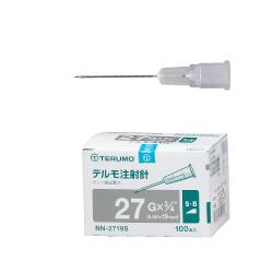 テルモ注射針 27G S.B. 19mm(3/4″) 1箱(100本入) (テルモ)